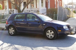 "His #3 in US - 2002 VW Golf ""Blue Peace"""