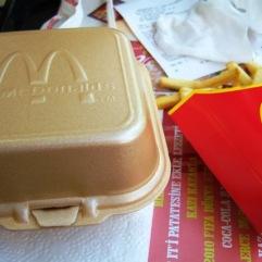 """""""Menű 1"""" - the Big Mac Meal"""