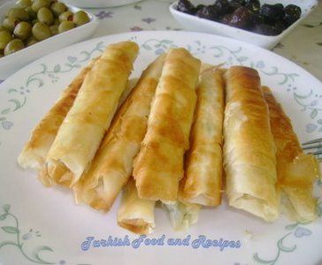 Sigara Boregi (Photo Courtesy of Hariye's Turkish Food and Recipes