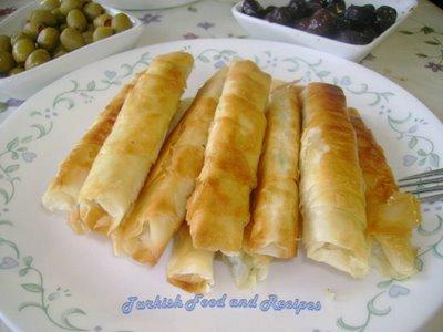 Sigara Boregi (Photo Courtesy of Hariye's Turkish Food and Recipes