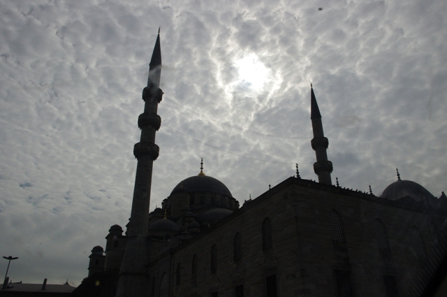 Clouds Over Aya Sofya