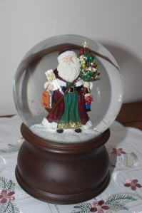 One of my favorites - a snow globe from home.