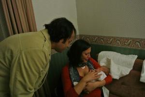 Aunt T. (Terry Teyze-Yenge-Hali) & Uncle B. Visit