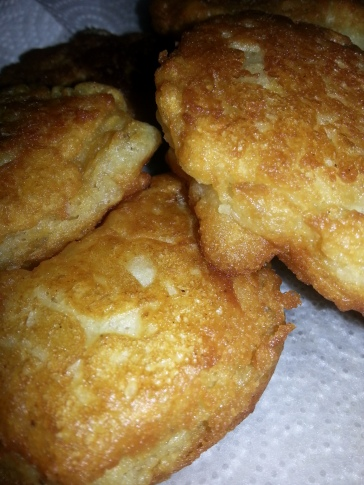 Apple Pancake Fritters