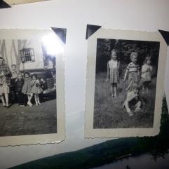 1- Billy Mom Charlie Tom Amy Eileen 2- Amy Tom Eileen (and Billy I think)