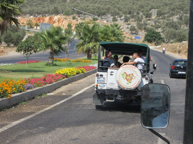 Oh, the things we did!!  Jeep Safari in Kaş  (4/6)