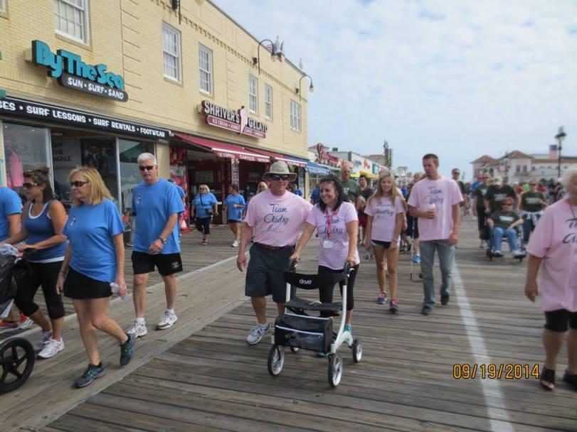Team Audry, Ocean City Walk to Defeat ALS