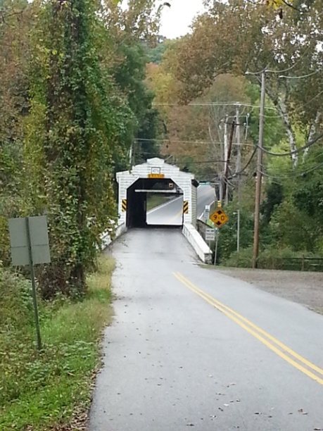 Covered Bridge at Harmony Hill
