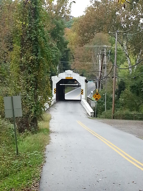 Covered Bridge at Harmony Hill