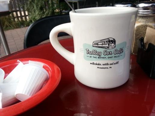 Trolley Cafe, East Falls, Philadelphia