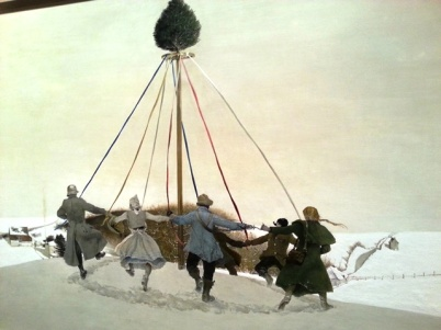 Snow Hill, Andrew Wyeth, Brandywine River Museum
