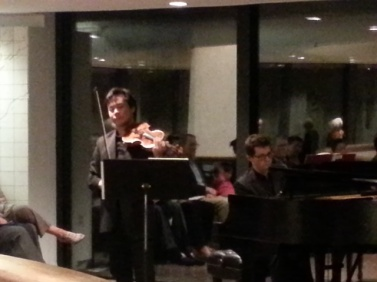Music at the Brandywine River Museum - The pianist actually played with the Bilkent Symphony in Ankara!