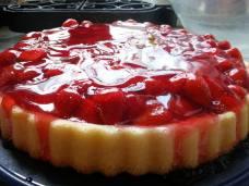 Glazed Strawberry Torte