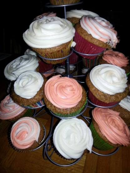 Birthday Swirl Cupcakes