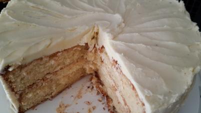 Anniversary White Cake