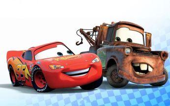 Lightening McQueen and Mater